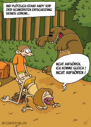 Entscheidungen Sex Karikatur Cartoon