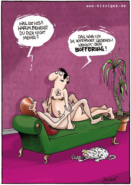 Buffer Sex Vögeln Karikatur Cartoon