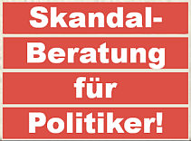 Skandalberatung fr Politiker