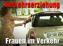 Frauen im Straenverkehr