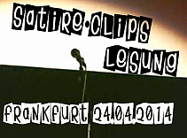 Satire Clips Lesung Frankfurt 2014